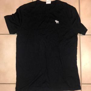 Abercrombie kids black  T-shirt size medium